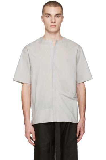 Phoebe English - Grey Poplin Shirt