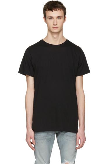 John Elliott - Black Classic Crew T-Shirt