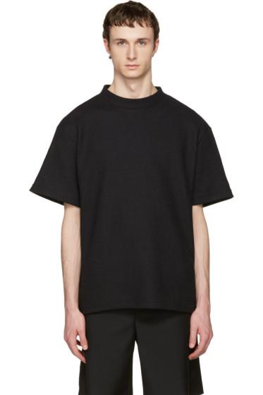 John Elliott - Black Raschel T-Shirt