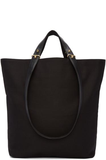 Haerfest - Black Canvas H6 Tote Bag