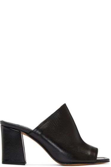 Maryam Nassir Zadeh - Black Penelope Slide Sandals