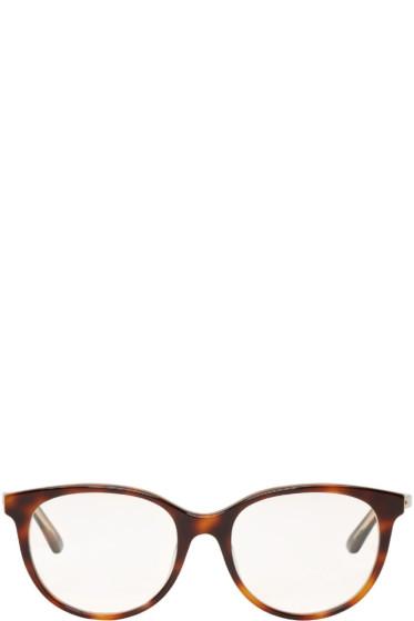 Dior - Tortoiseshell Montaigne Glasses