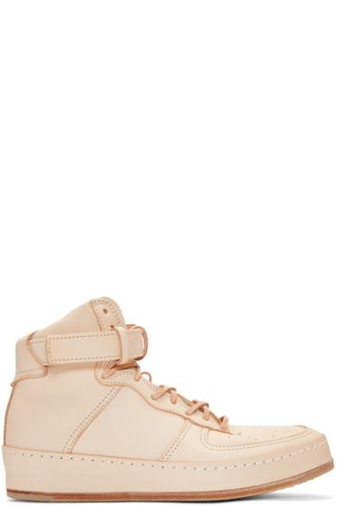 Hender Scheme - Beige Manual Industrial Products 01 High-Top Sneakers