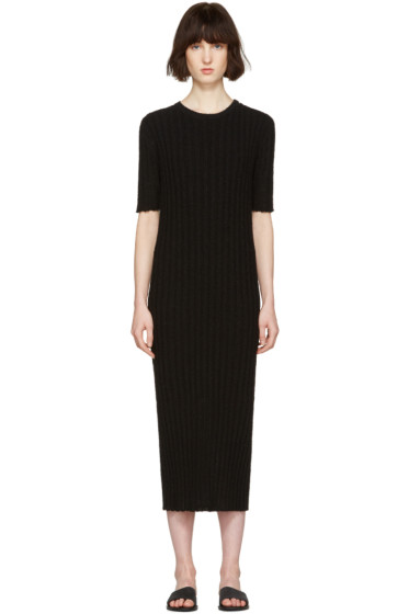 Nehera - Black Ribbed Dress