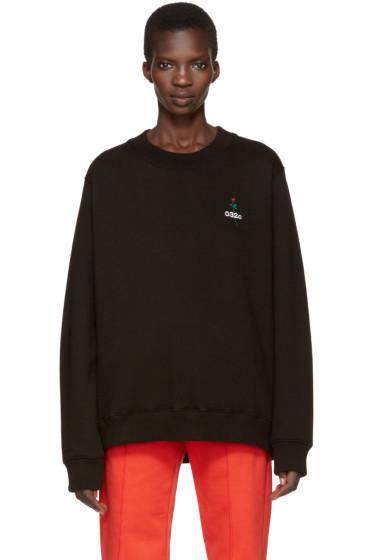 032c - Black 'Don't Dream It's Over' Sweatshirt