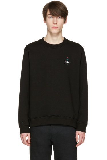 032c - Black 'Don't Dream It's Over' Sweatshirt
