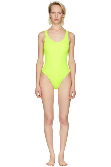 Solid & Striped - Yellow 'The Anne-Marie' Swimsuit