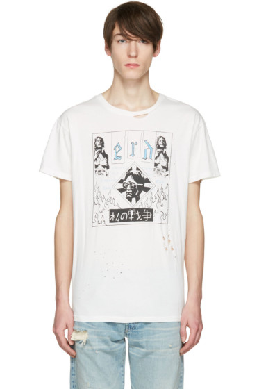 Enfants Riches Déprimés - Off-White 'Bohemian Elitist Scum' T-Shirt