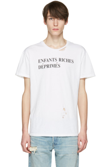 Enfants Riches Déprimés - Off-White Classic Logo T-Shirt