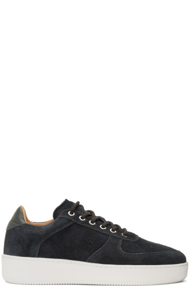 Aime Leon Dore - SSENSE Exclusive Grey Suede Sneakers