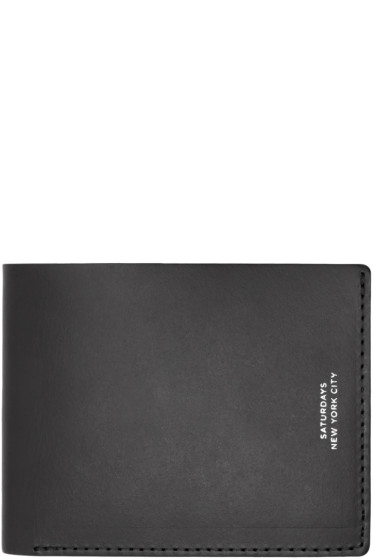 Saturdays NYC - Black Bifold Wallet