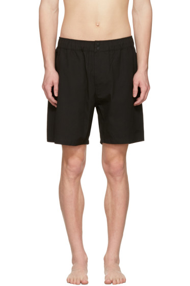 Saturdays NYC - Black Trent Swim Shorts