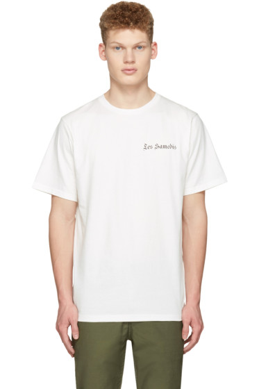 Saturdays NYC - Ivory 'Les Samedis' T-Shirt