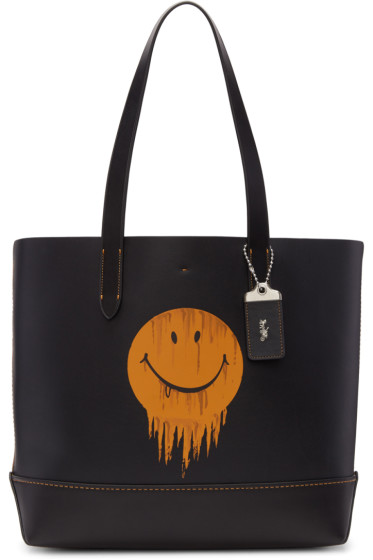 Coach 1941 - Black Baseman Edition Gnarly Face Gotham Tote