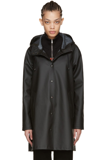 Stutterheim - Black Mosebacke Raincoat