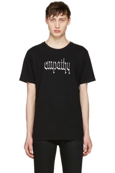 Resort Corps - Black 'Empathy' T-Shirt