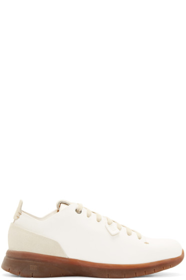 Feit - White Leather Biotrainer Sneakers