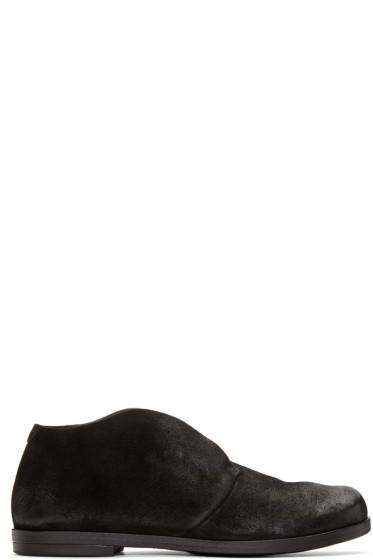 Marsèll - Black Suede Listello Boots