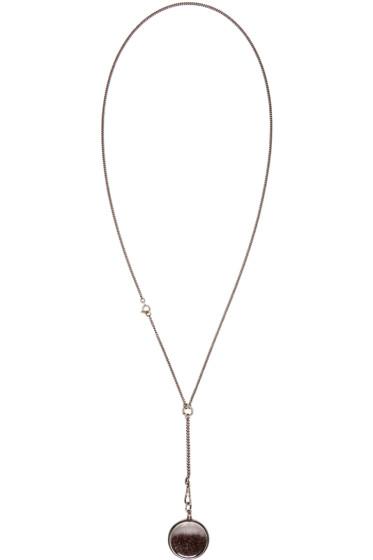 Ann Demeulemeester - Silver Stardust Necklace