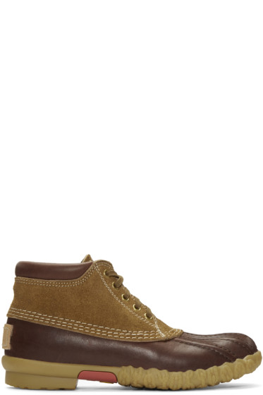 Visvim - Brown Decoy Duck Mid-Folk Boots