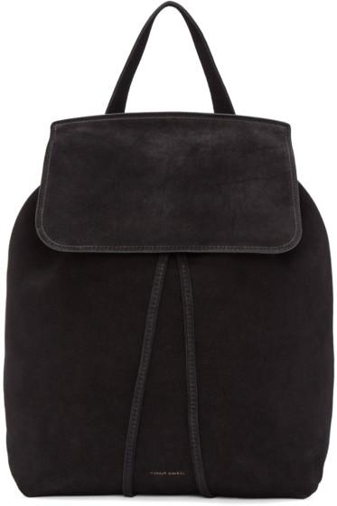 Mansur Gavriel - Black Suede Backpack