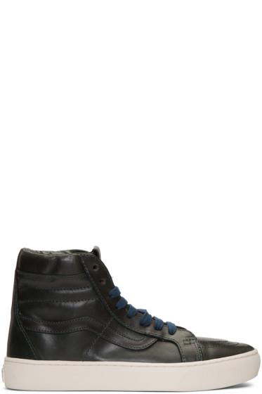 Vans - Blue Horween Edition Sk8-Hi Cup LX Sneakers