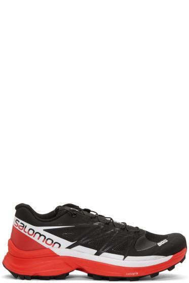 Salomon - Black S-Lab Wings 8 SG Sneakers
