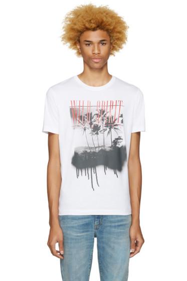 Diesel - White T-Joe-Me Wild Spirit T-Shirt