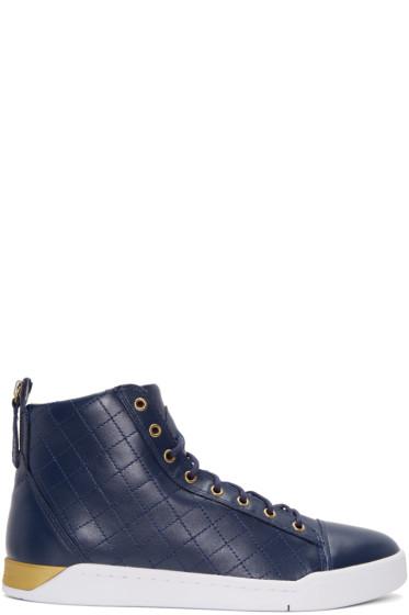Diesel - Blue Diamond High-Top Sneakers