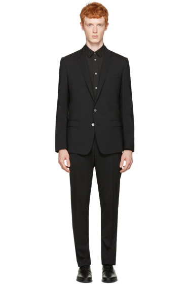 Dolce & Gabbana - Black Martini Suit