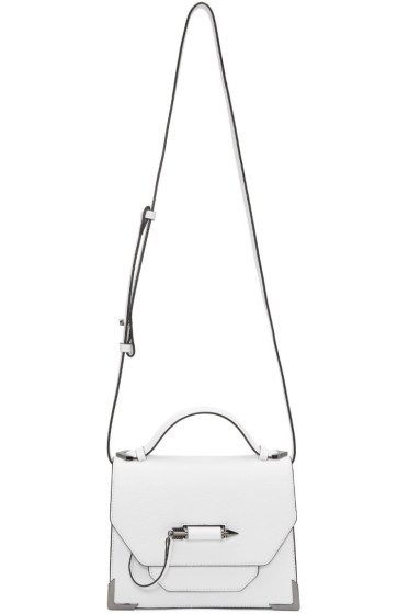 Mackage - White Small Keeley Messenger Bag