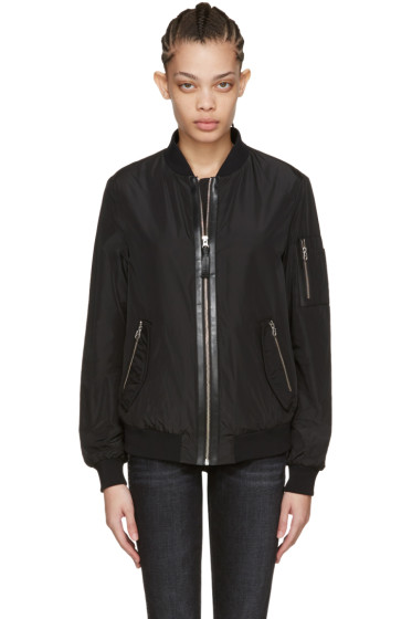 Mackage - Black Verena Bomber Jacket