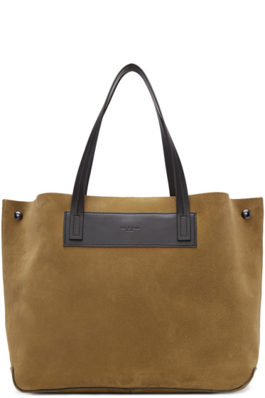 Rag & Bone - Brown Suede Compass Everyday Tote