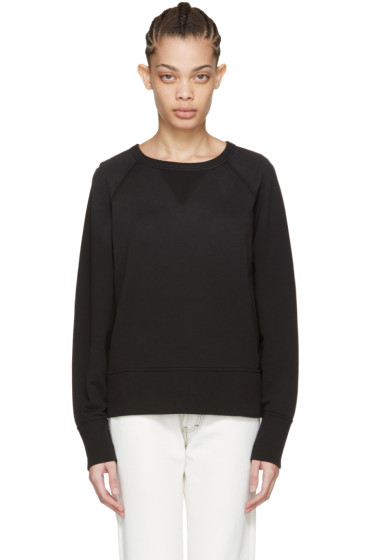 Rag & Bone - Black Washed Classic Pullover