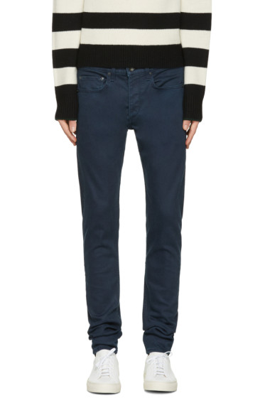 Rag & Bone - Navy Standard Issue Fit 1 Jeans