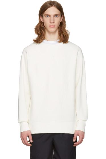 Rag & Bone - Off-White Racer Pullover