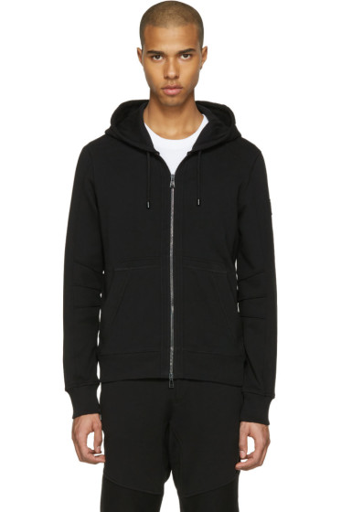 Belstaff - Black Fleming Zip-Up Hoodie