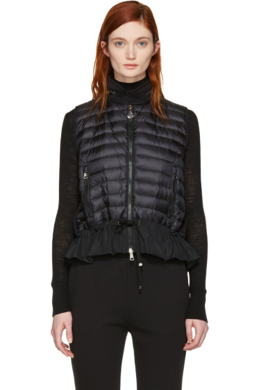 Moncler - Black Lightweight Down Vest