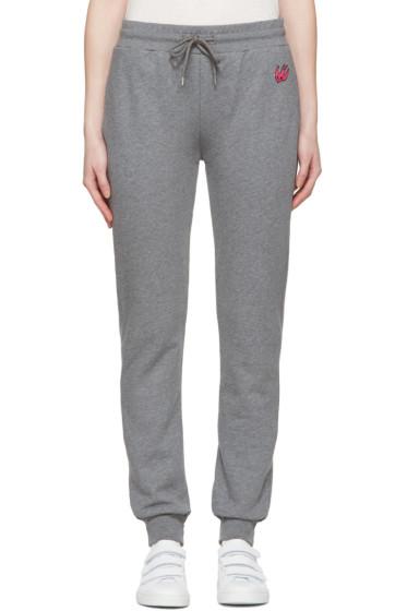 McQ Alexander Mcqueen - Grey Slim Lounge Pants
