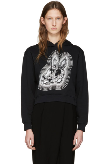 McQ Alexander Mcqueen - Black Be Here Now Hoodie