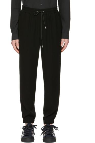 McQ Alexander Mcqueen - Black Tailored Lounge Pants