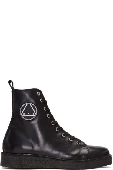 McQ Alexander Mcqueen - Black Chris High-Top Sneakers