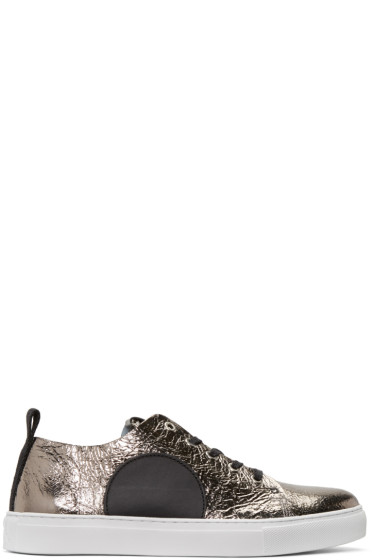 McQ Alexander Mcqueen - Silver Chris Sneakers