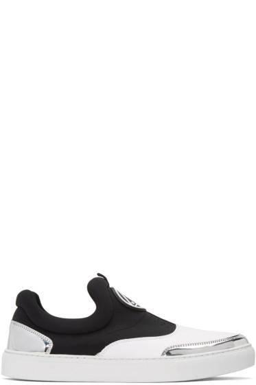McQ Alexander Mcqueen - White Youko Slip-On Sneakers