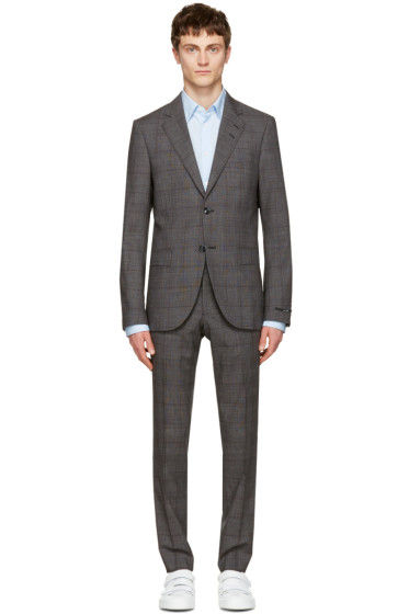 Tiger of Sweden - Grey Check Gekko Suit