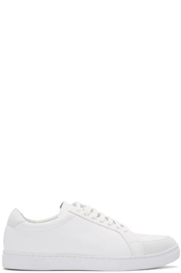Tiger of Sweden - White Arne Sneakers