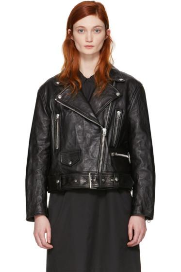 Acne Studios - Black Leather Merlyn Jacket