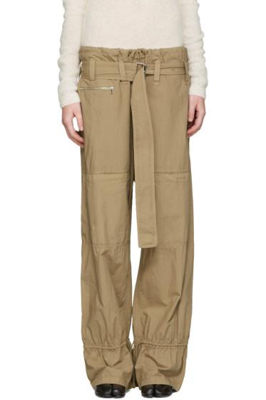 Acne Studios - Beige Ibbie Utility Trousers