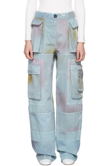 Acne Studios - Blue Imogen P Cargo Pants