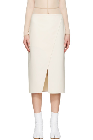 Acne Studios - Ivory Pau Skirt